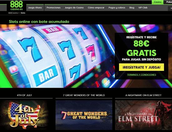 888 casino tragaperras