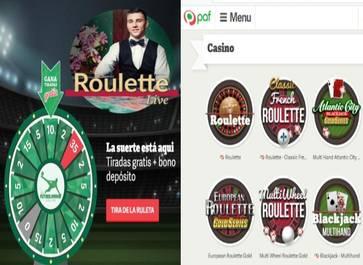 35 giros gratis 10 euros y un reembolso de hasta 20 euros en Casino Paf